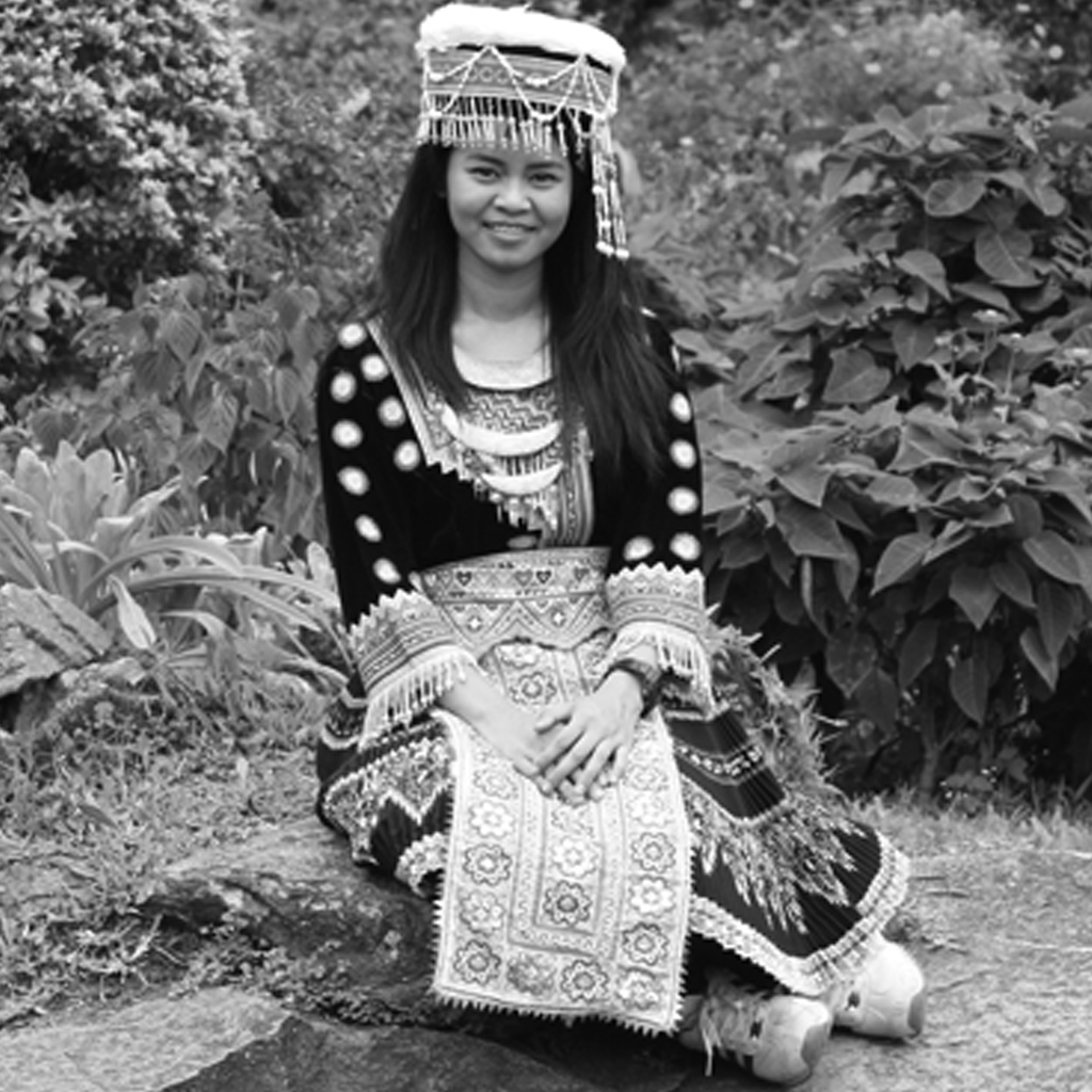 Hill tribe traditional dress