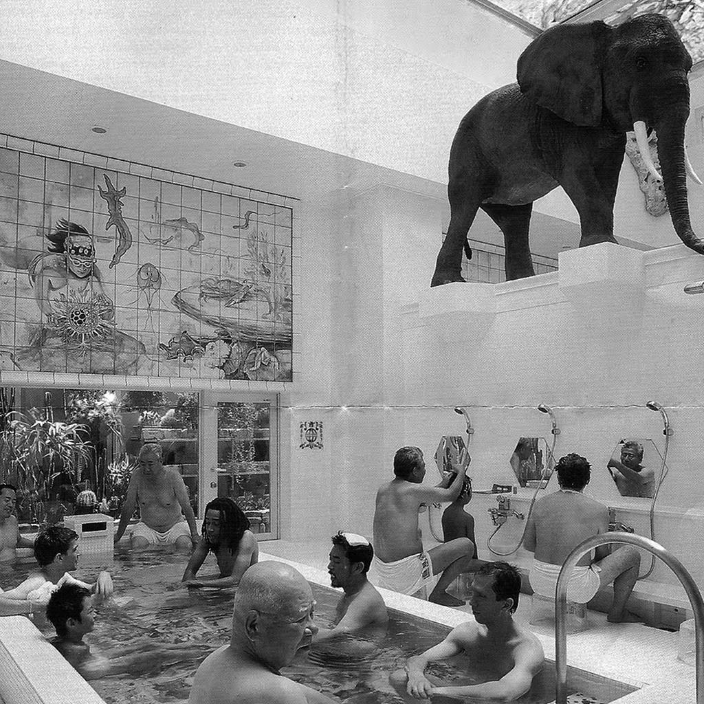 Go to a bathhouse
