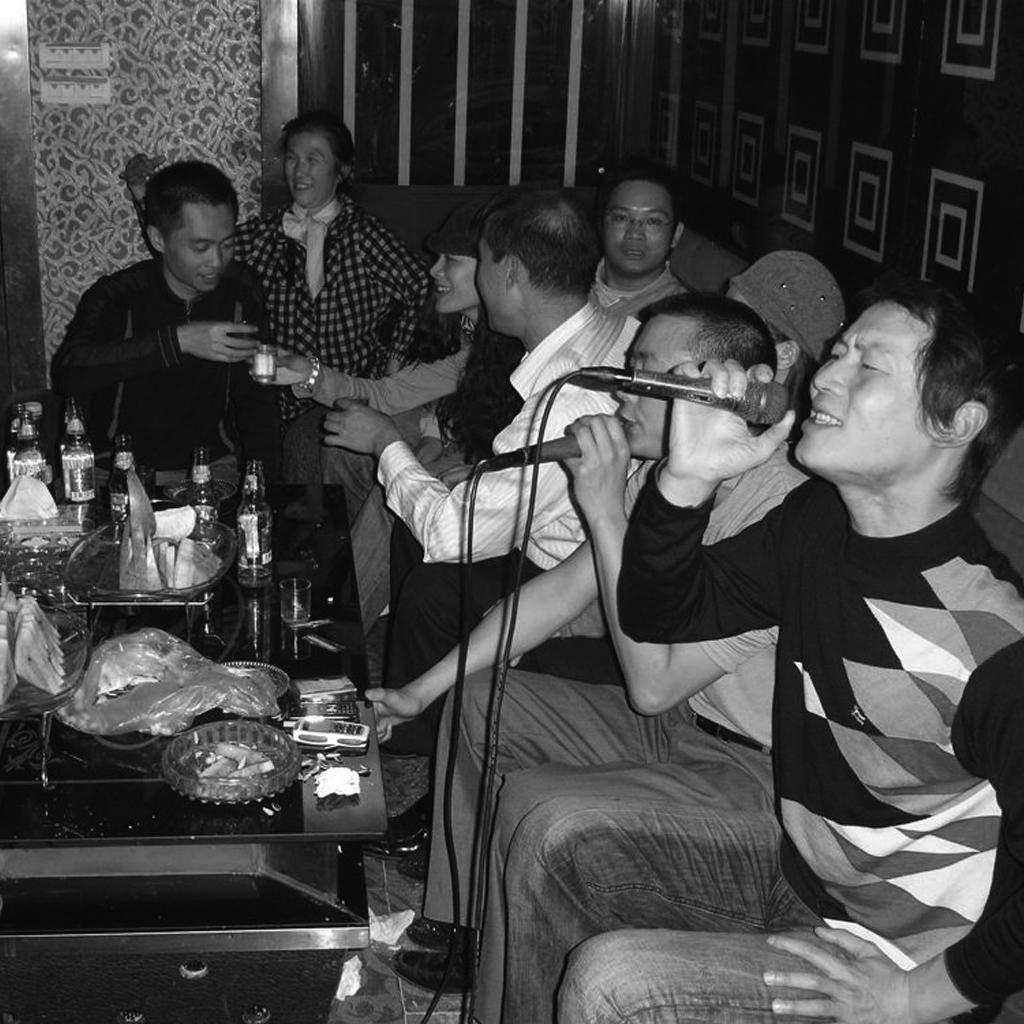 Karaoke and mahjongg