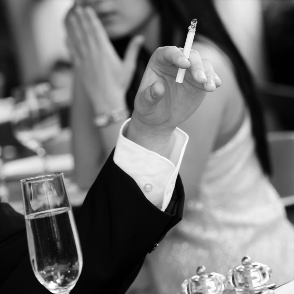 Chinese and smoking