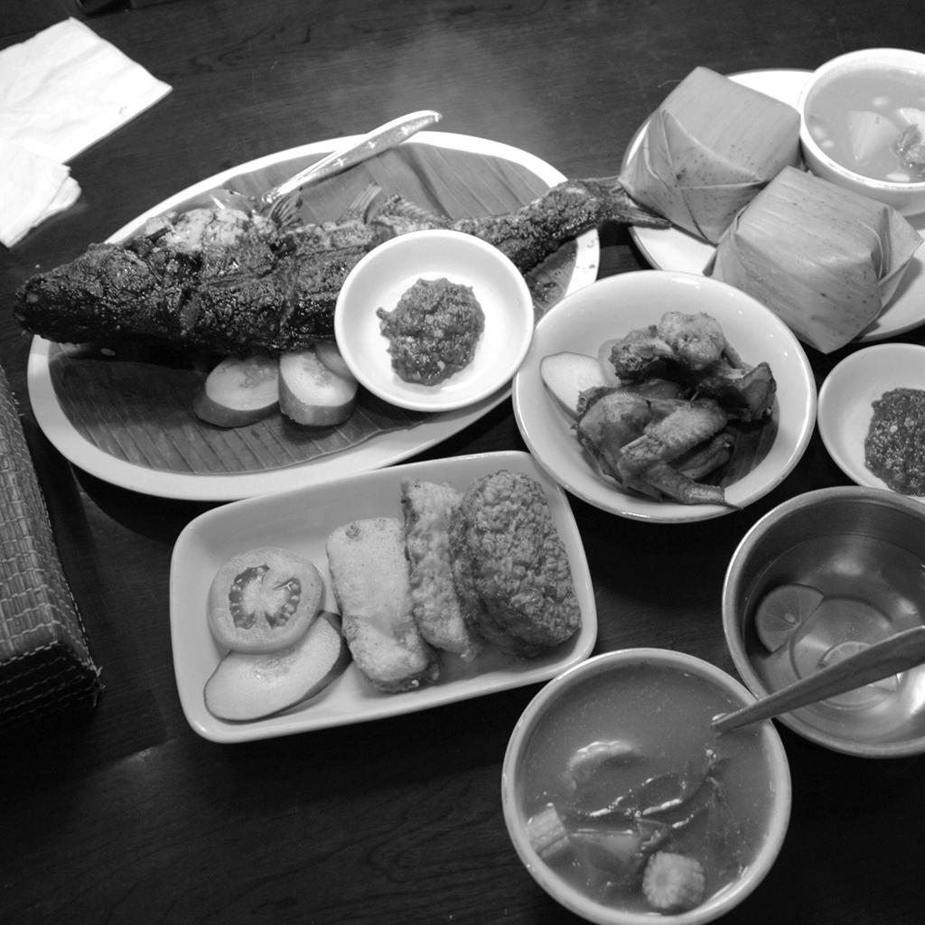 Taste food before leaving