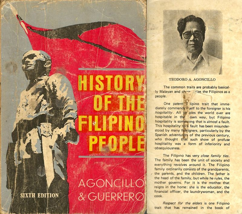History of the Filipino People book cover
