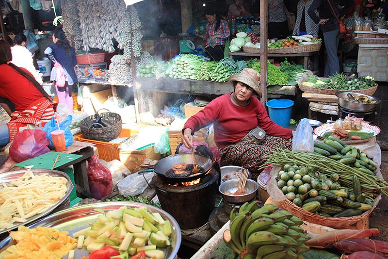 Shopping in Asian Markets