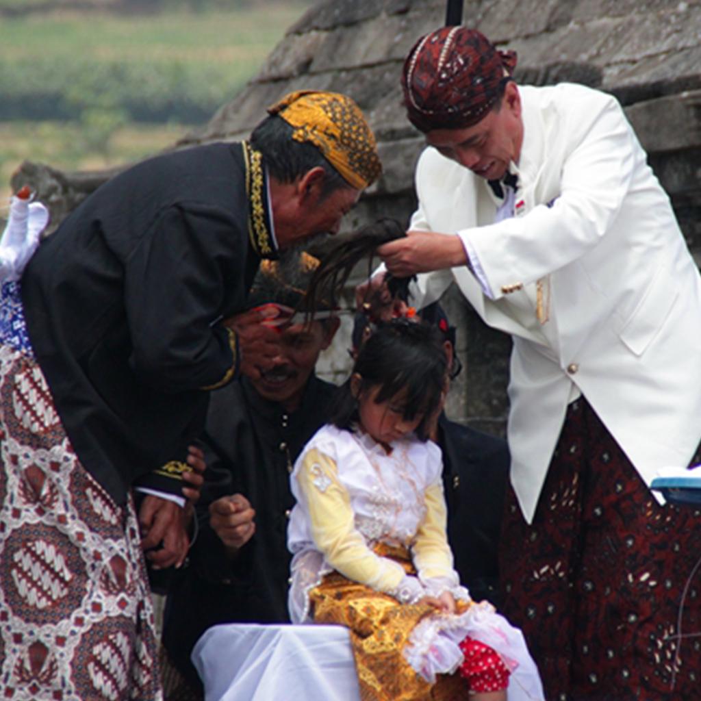 Dieng Plateau Dreadlocks Haircut Ceremony