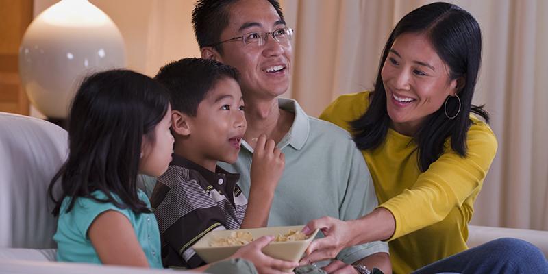 Asian American bi-cultural personality