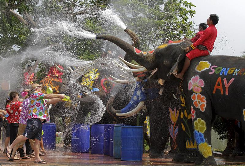 Thailand's Many Celebrations with Rain