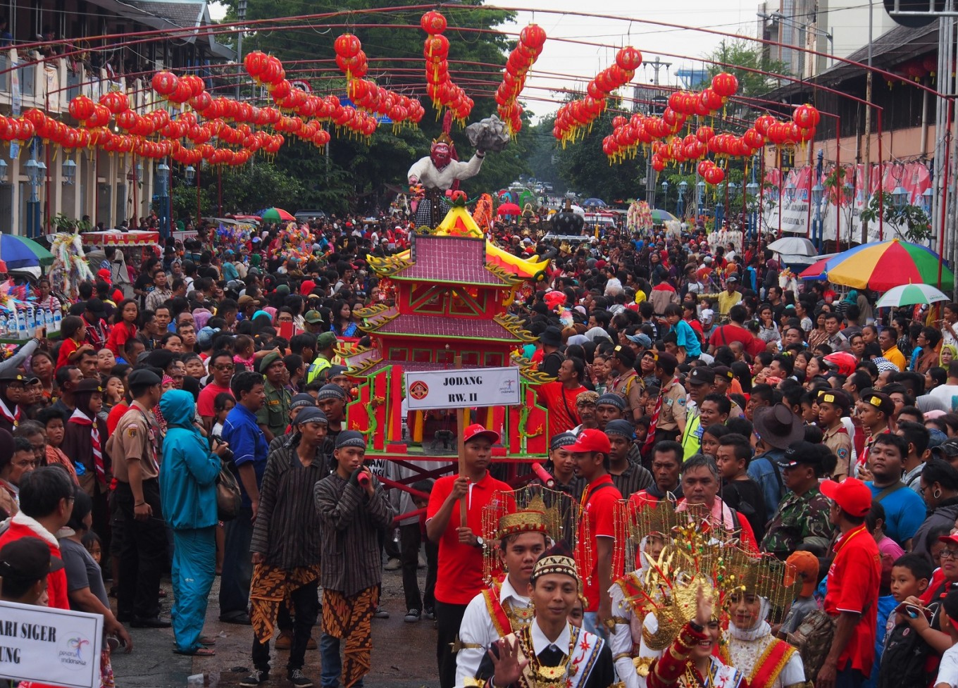 Balong hamlet in Surakarta, the home for Chinese