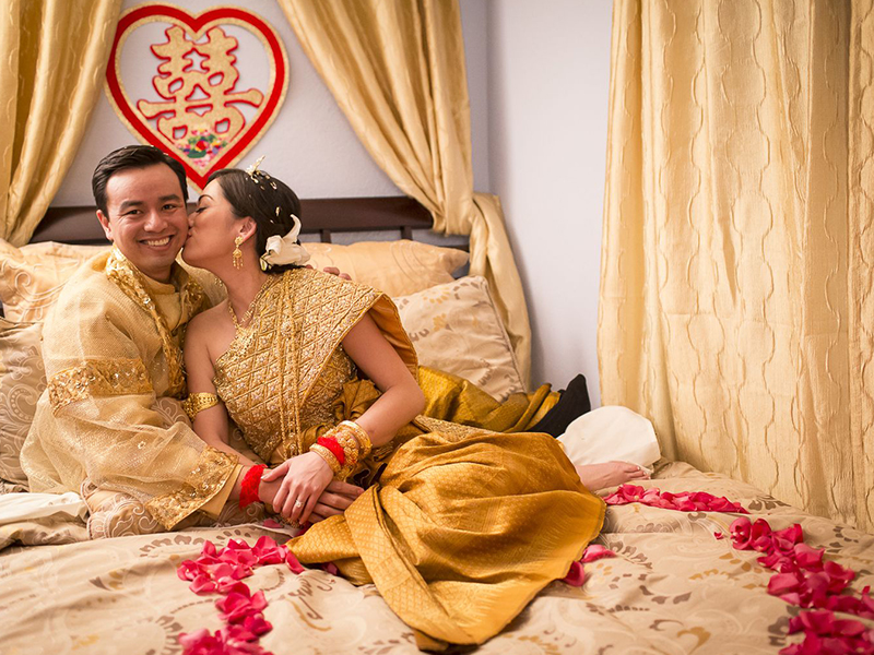 The life of New Couples in Cambodia