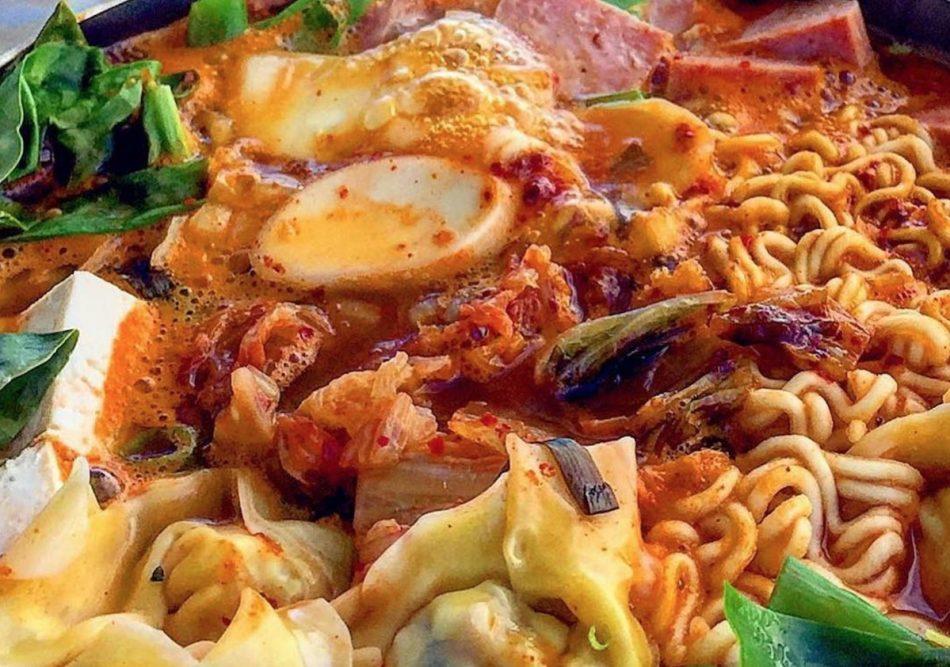 Budae Jjigae army food