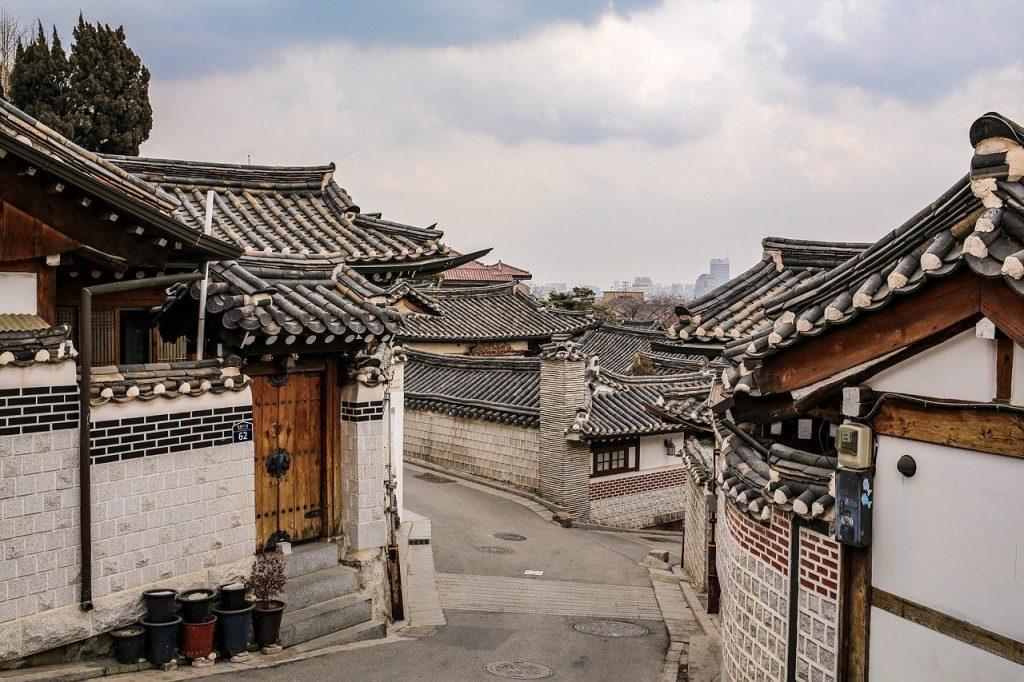 jeonju hanok houses street