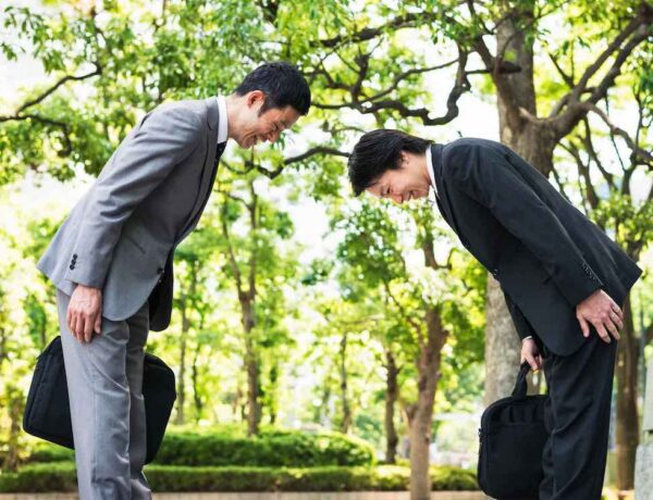 japanese bowing greeting customs